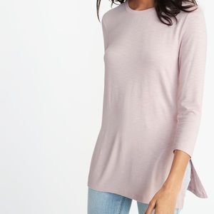 OLD NAVY Light Pink Luxe Tunic S